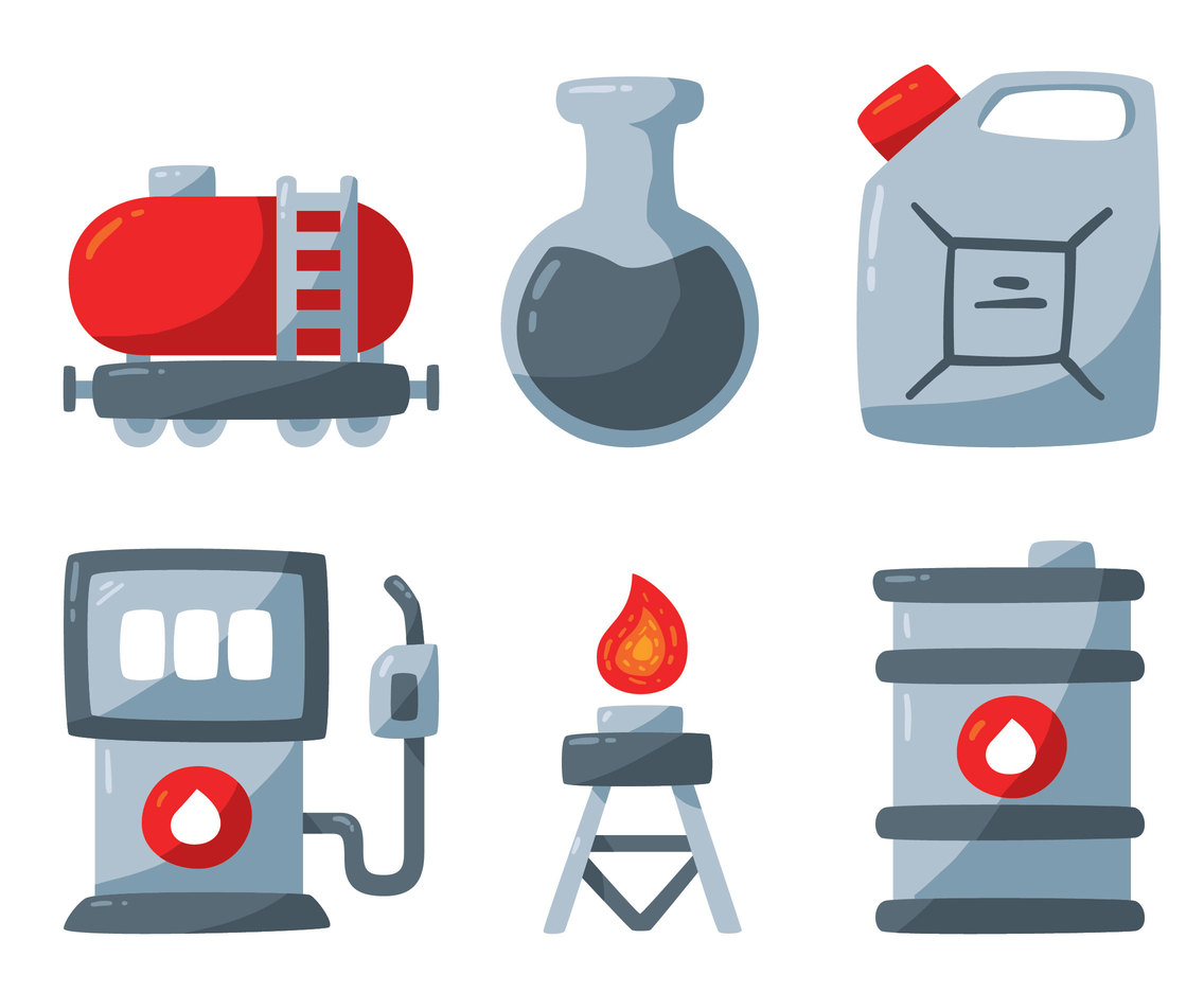 Petrol Element Vector