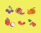 Sweet Fruits Vector