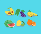 Tasty Fruits Vector