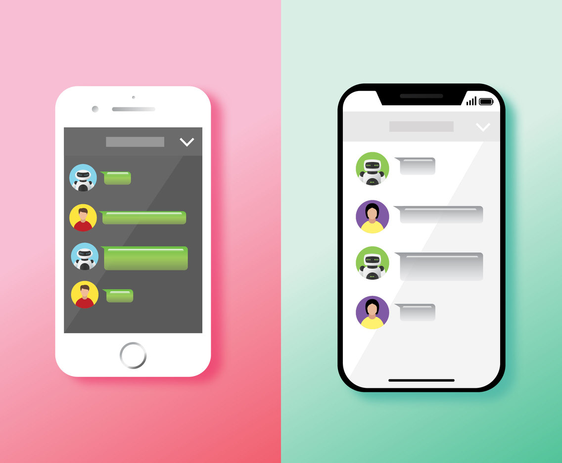 Chatbot Vector Design