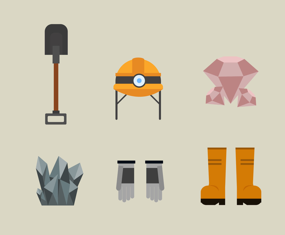 Mining Equipment Vector