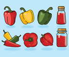 Paprika Vector Pack