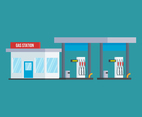 Unique Gas station Vectors