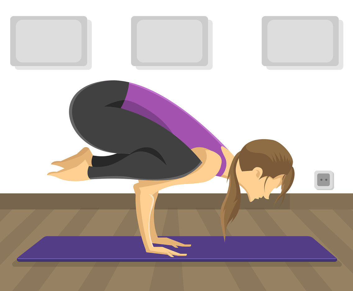 Yoga Posture Vector Vector Art Graphics Freevector Com