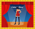 Cabaret Illustration Vector