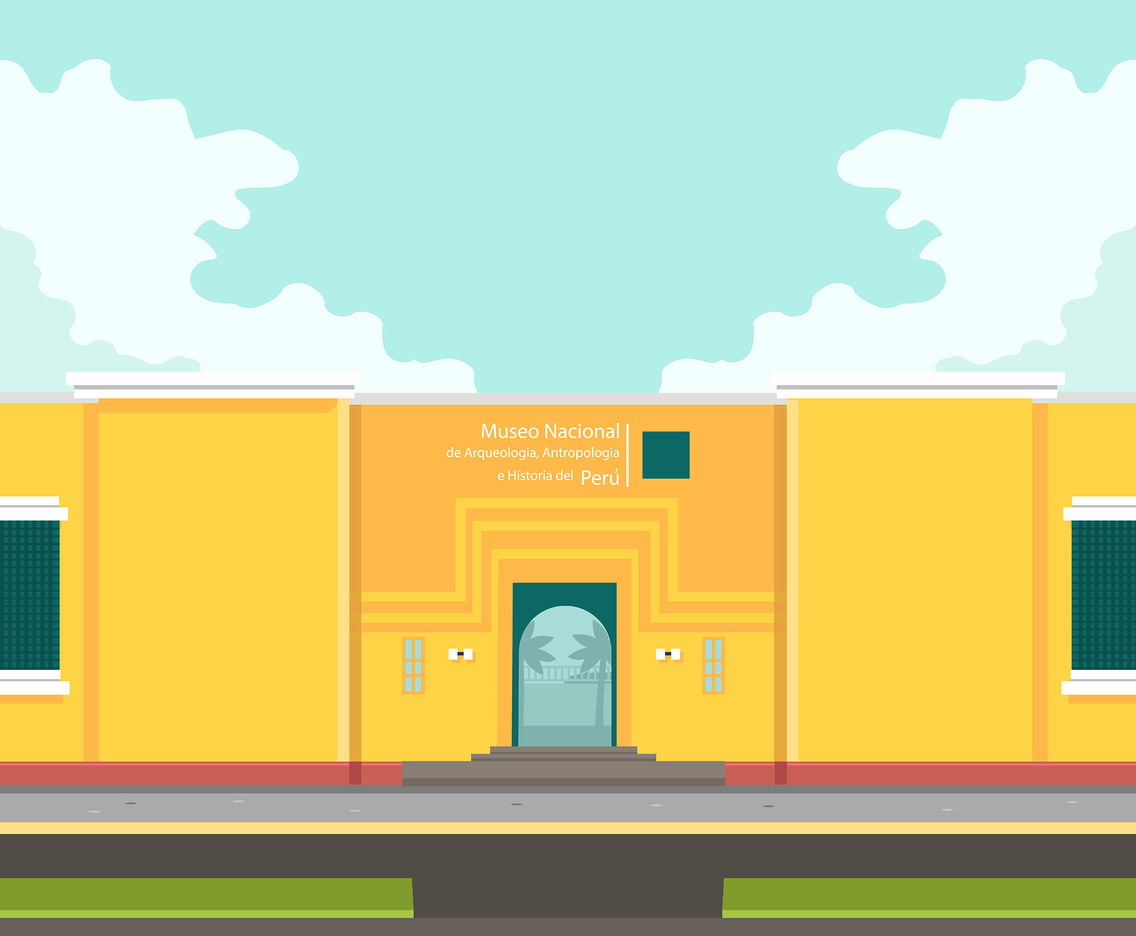 Lima National Museum Vector
