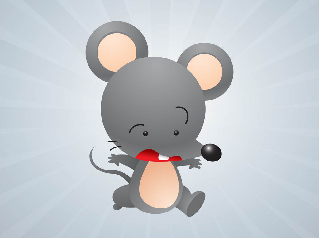 Cartoon Vector Mouse