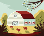 The Ranch Vector Design