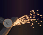 Welding Sparks Particles Vector