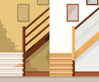 Stair Renovation Vector