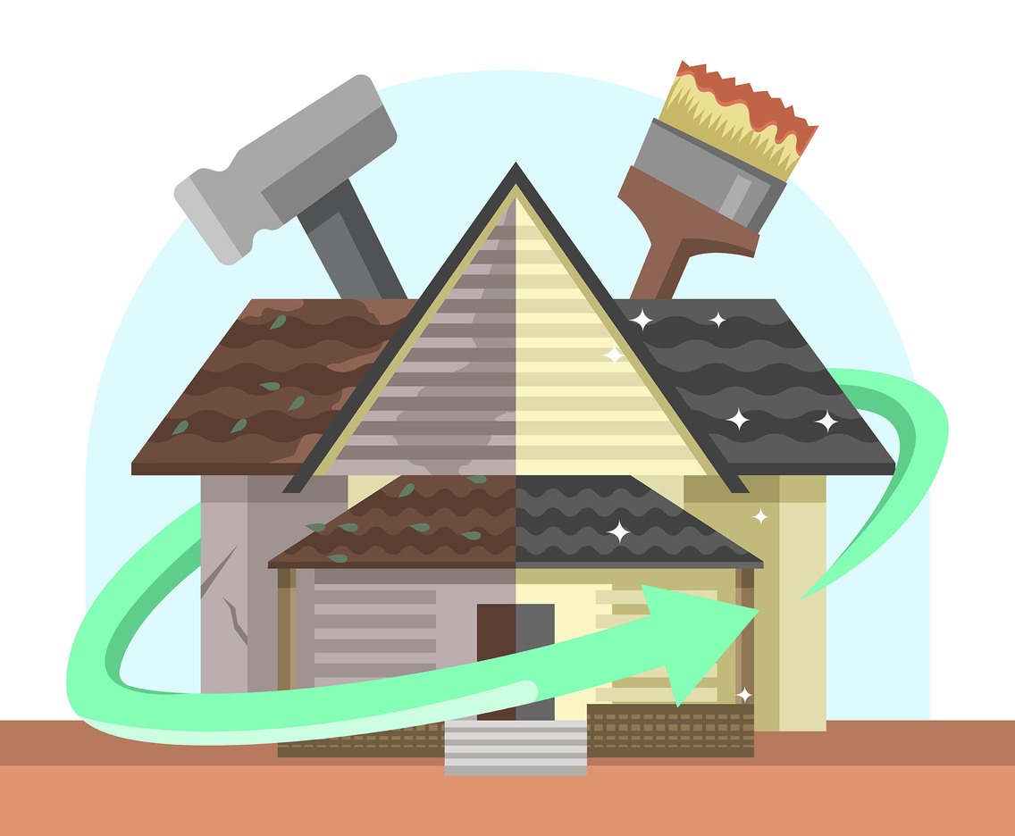 Renovation Illustration Vector