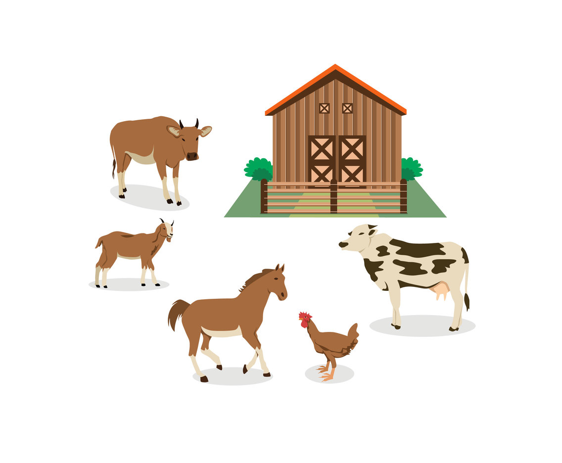 Ranch Illustration Vector