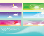 Beautiful Sky Banners