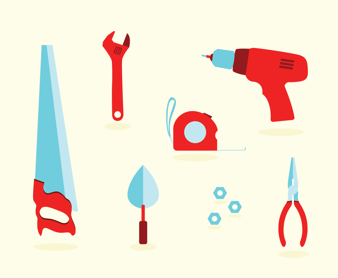 Renovation Tools Equipment Vector Pack