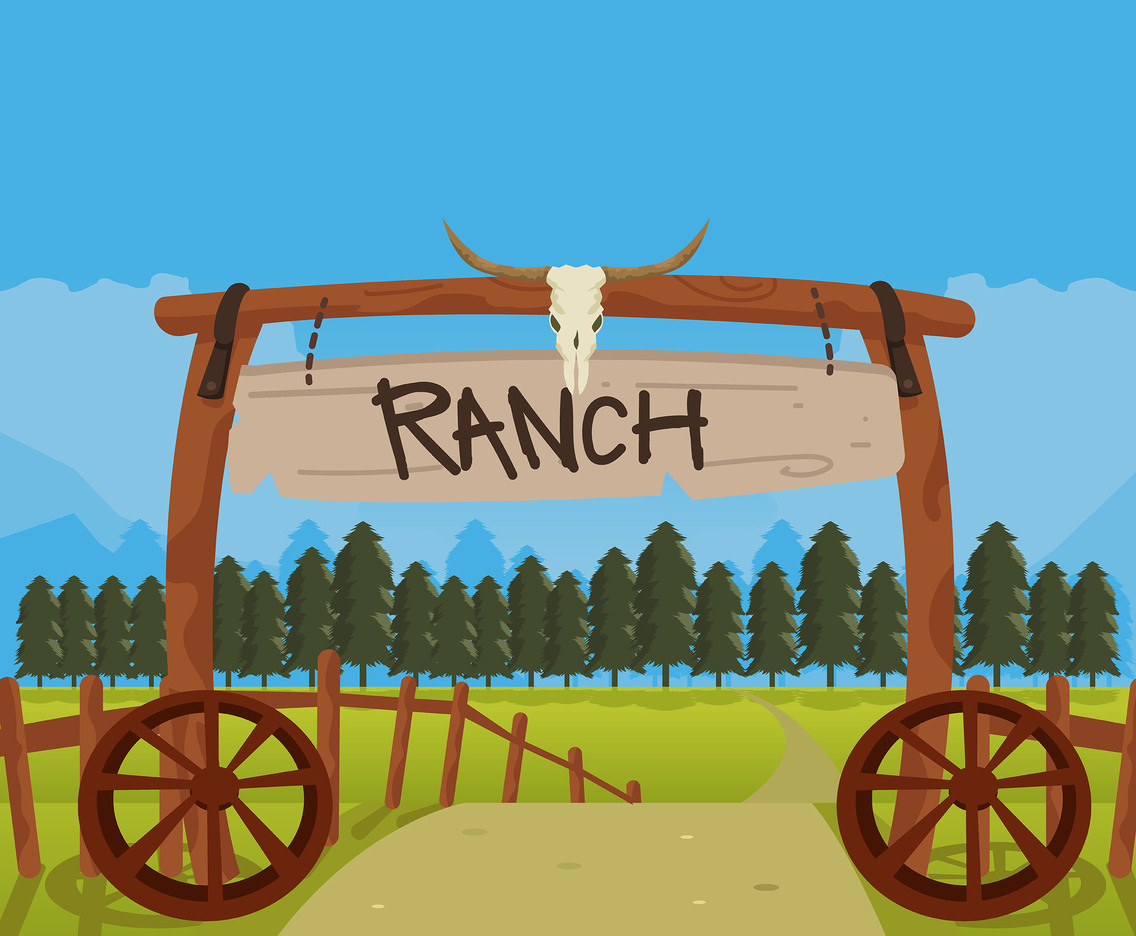Ranch Entrance Vector