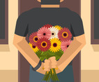 Gerbera Bouquet Vector