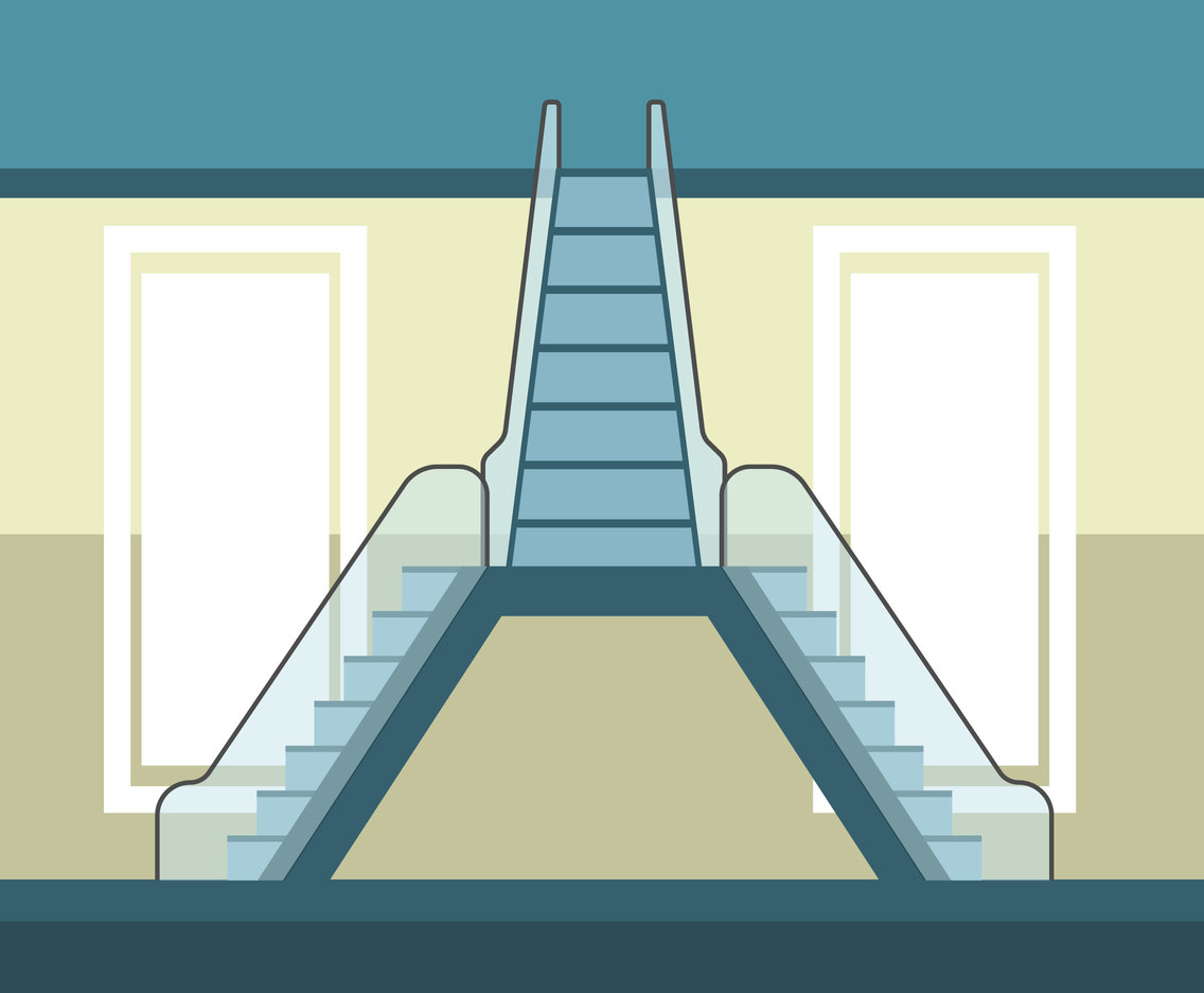 Stair Illustration Vector