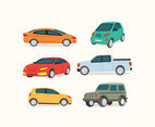 Various Cars Vector