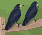 Two Rooks Vector