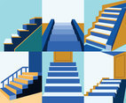 Stairways Illustration Vector