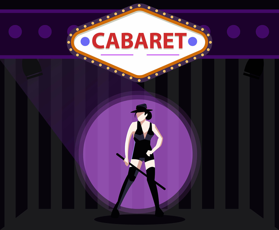 Cabaret Fashion Vector