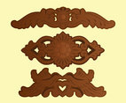 Indonesian Woodcarving Vector Pack