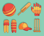 Cricket Element Vector