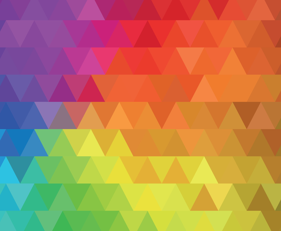 Triangle Colorful Rainbow Background