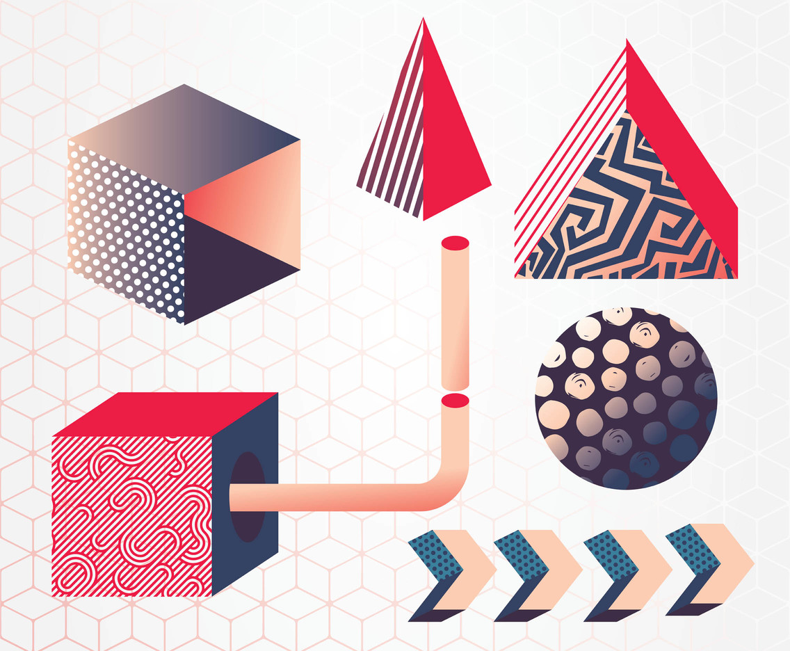 Urban Geometric Vector Pack