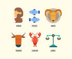Zodiac Illustration Vector