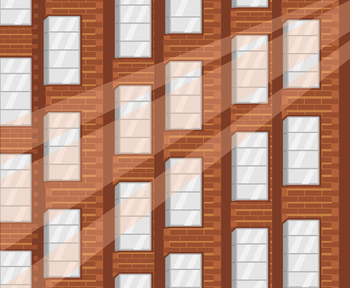 Brick Urban Geometric Vector