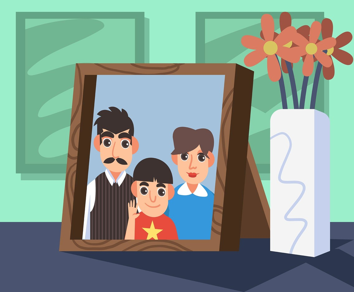 Family Picture Vector