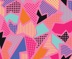 Pinkish Geometric Urban Background