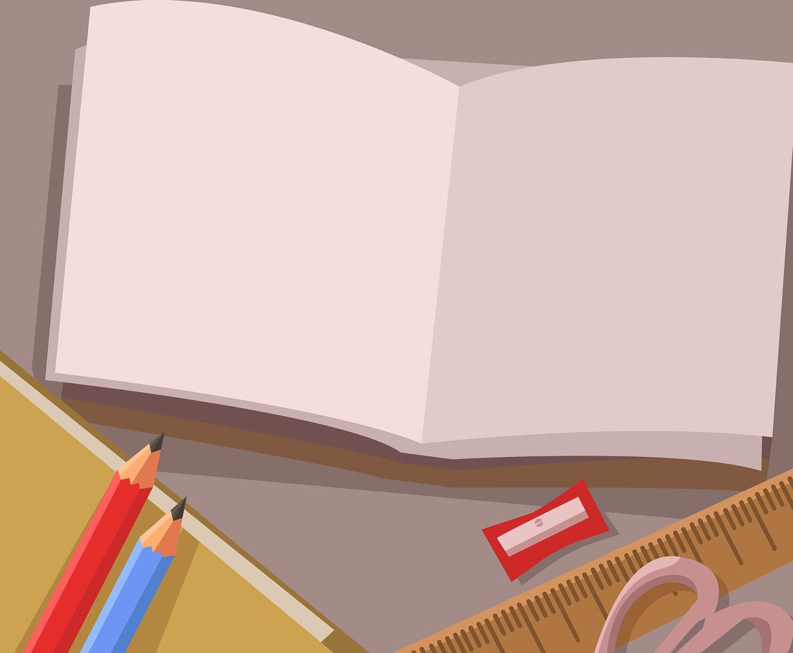 Education Background With Book Vector