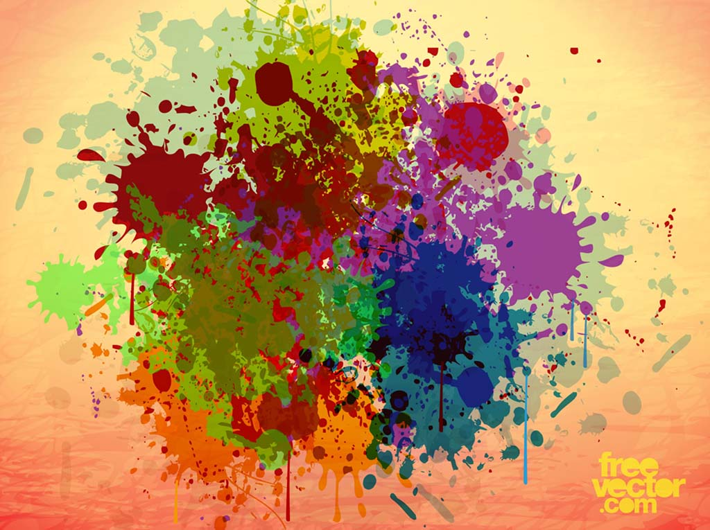 grunge paint vector vector art  u0026 graphics