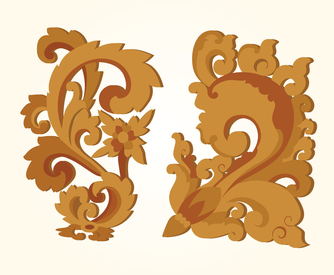 Woodcarving Vector Design
