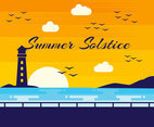 Outstanding Summer Solstice Vectors