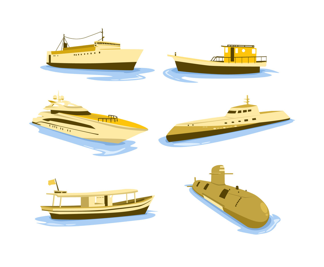 Water Transportation Vector