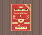 Beautiful Party Flyer Vectors