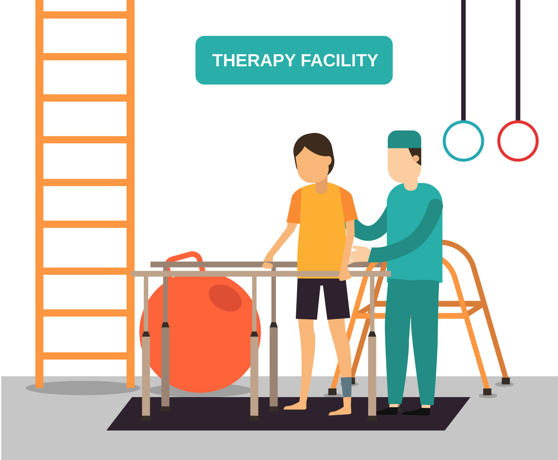 Physiotherapy Facility Vector