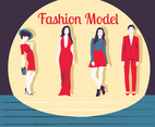 Fashion Model Vector Pack