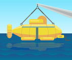 Yellow Submarines Vector