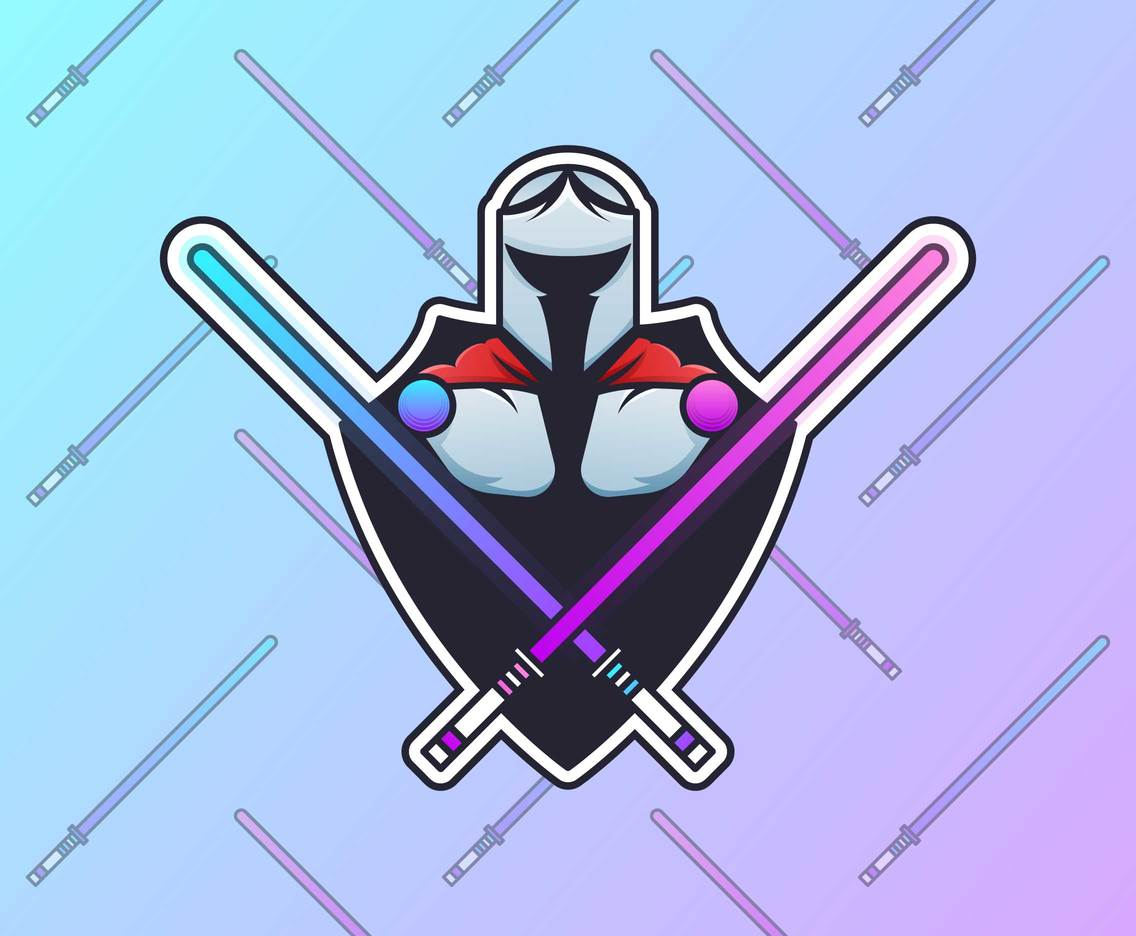 Awesome Space Knight Vectors