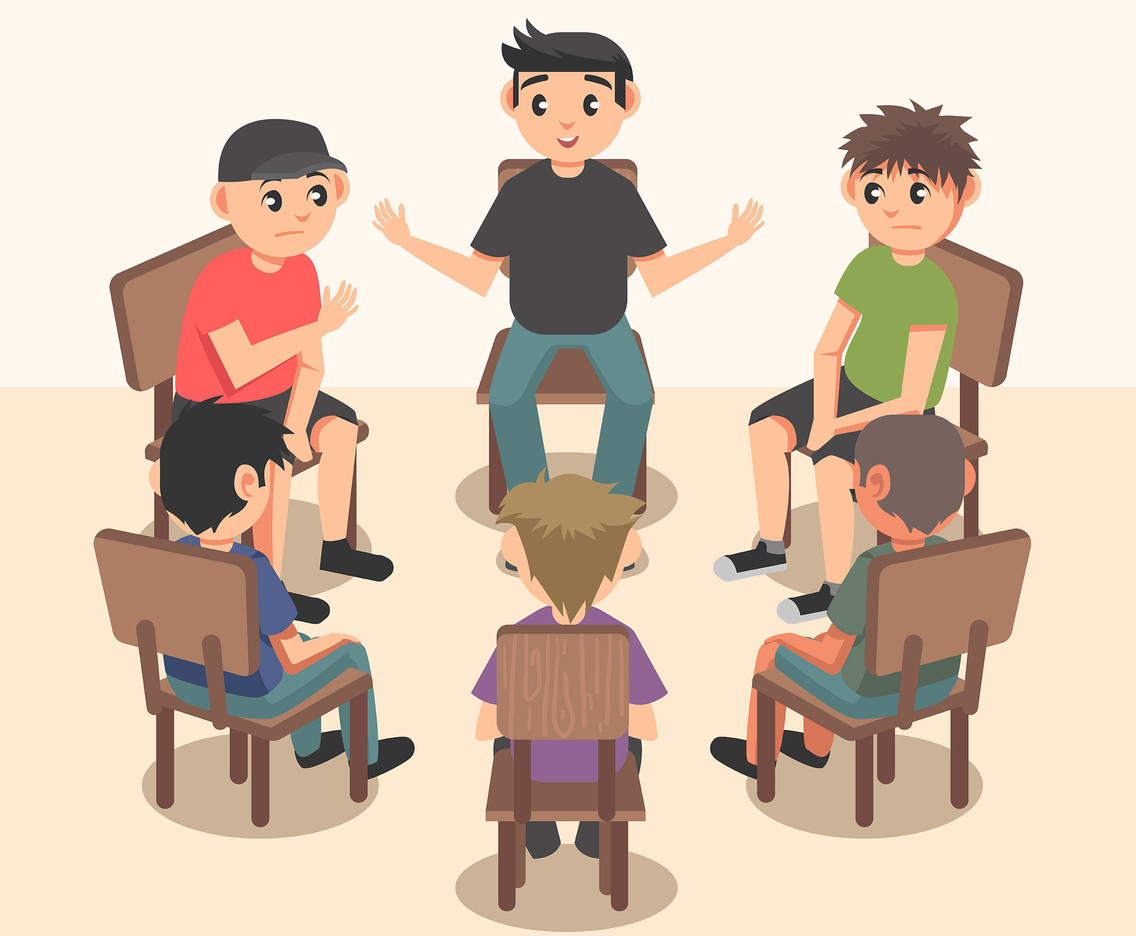 Group Therapy Vector