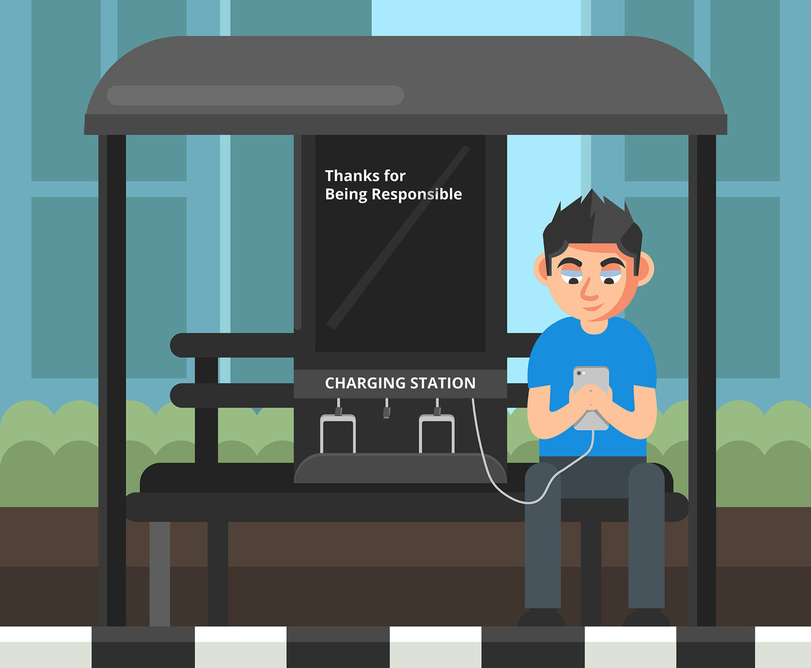 Charging Station Vector