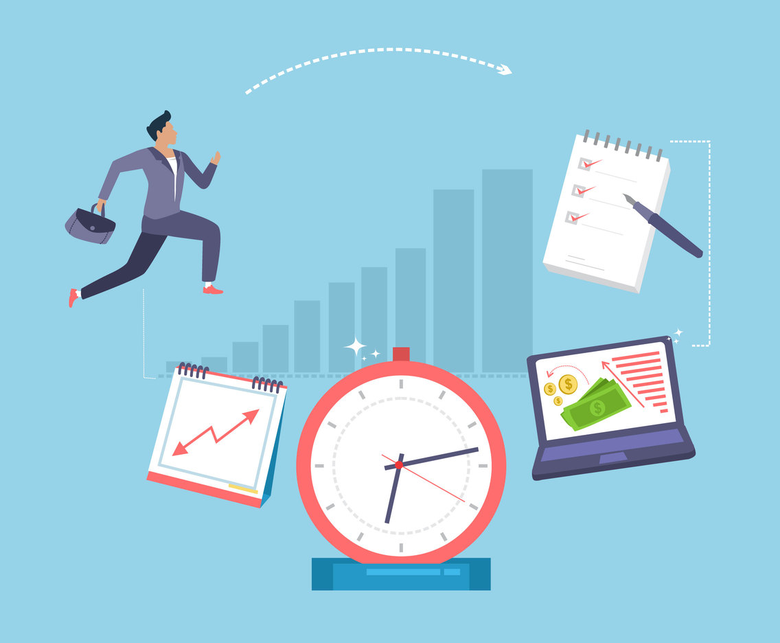 Time and Productivity Vector