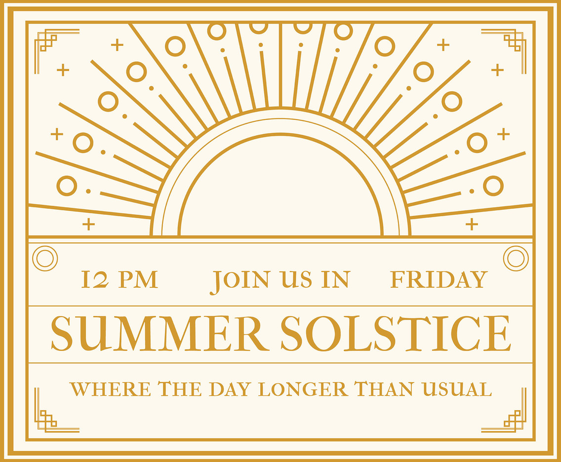 Summer solstice invitation vector vector art graphics freevector summer solstice invitation vector stopboris Gallery