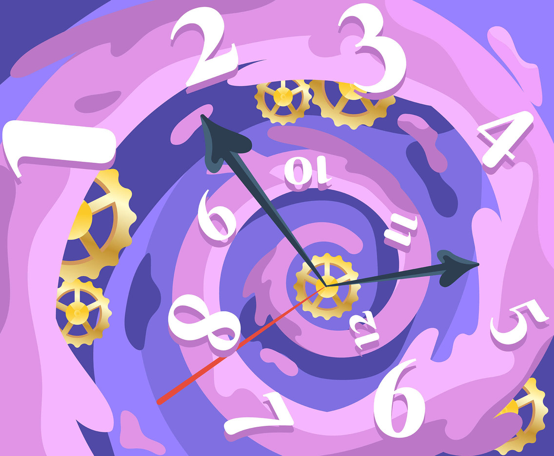 Vortex of Time Backgrounds Vector