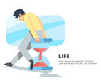 Life Time Backgrounds Vector