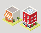 3D Building Vector Pack